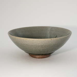 Charlie Collier Celadon glazed bowl - exterior