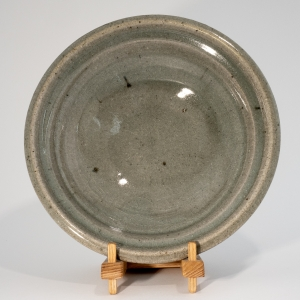 Brigitte Colleaux wood fired Celadon bowl