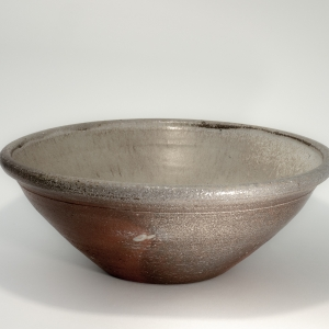 Brigitte Colleaux wood fired mixing bowl - exterior